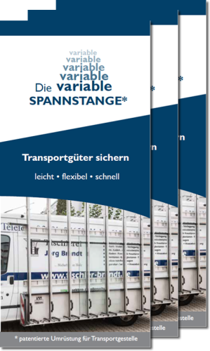 "Flyer ""Die variable Spannstange"""